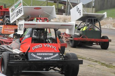 BriSCA F2 White Top Race - 29 May
