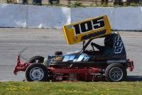 BriSCA F2 2019 White & Yellow (St Day)
