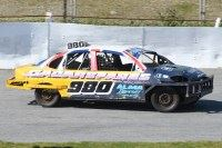Saloon Stock Cars 2019 White & Yellow
